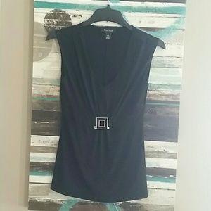 WHBM sleeveless black tank. Size XS.
